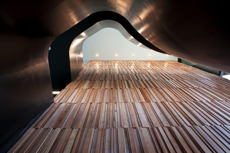 Timber Panneling Novotel