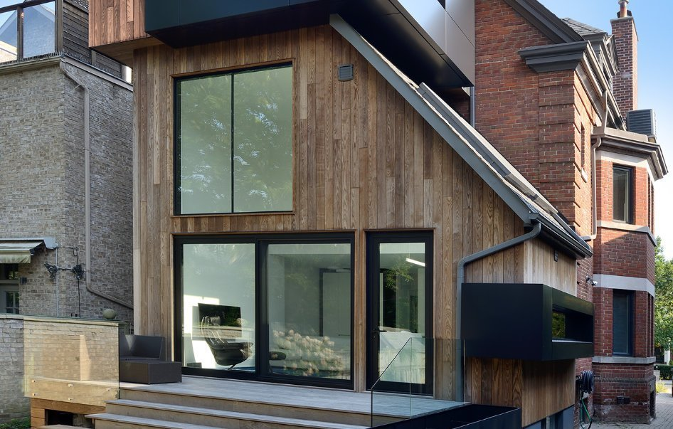 ash cladding residential
